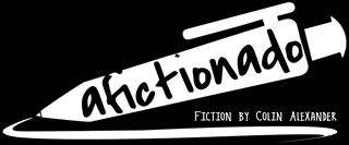 Afictionado - fiction by Colin Alexander logo